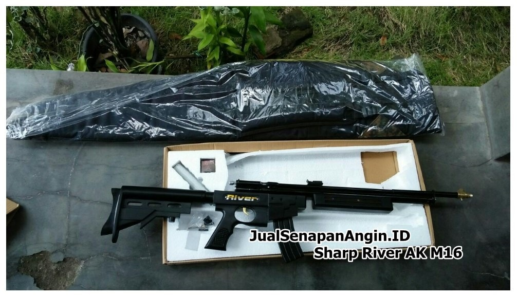 Senapan Angin Sharp River AK M16