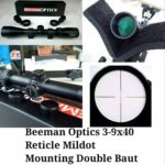 Teleskop Senapan Angin Gejluk Beeman Optics 3-9×40